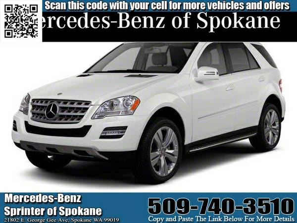 2011 MB TRUCK ML350 4MATIC V-6 CYL (4JGBB8GB9BA710869)