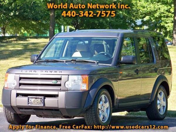 2006 Land Rover LR3 SE-V6. 4WD. DVD Entertainment System. 3rd Row Seat