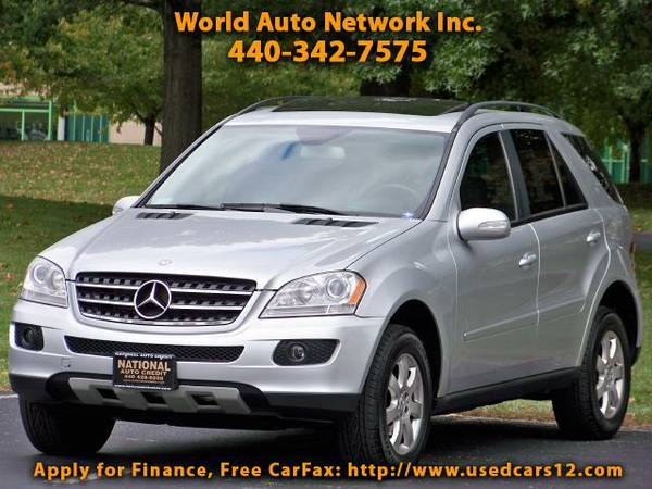 2007 Mercedes-Benz M-Class ML350. AWD. . GPS Navigation. Heated Leathe