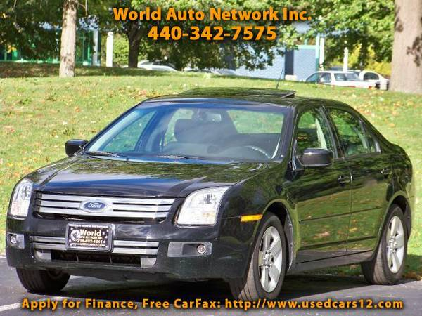 2008 Ford Fusion SE. Power Sunroof Package. Alloy Wheels. . Fully L