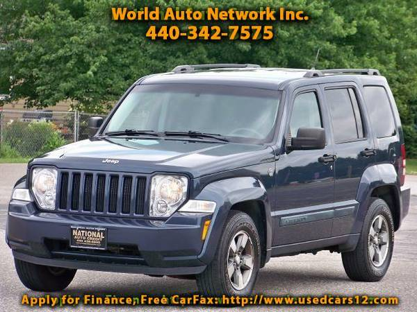 2008 Jeep Liberty Sport 4WD Alloy Wheels. Body color fender flares.