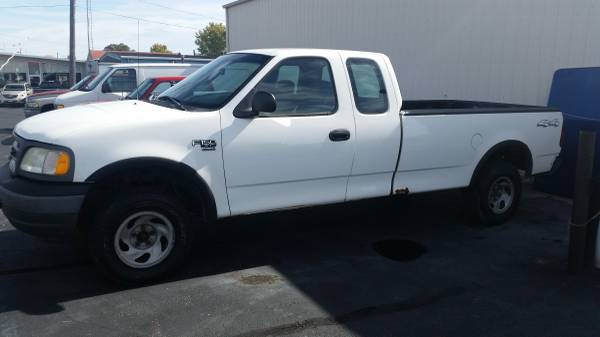 2003 FORD F150 EXT CAB 4X4