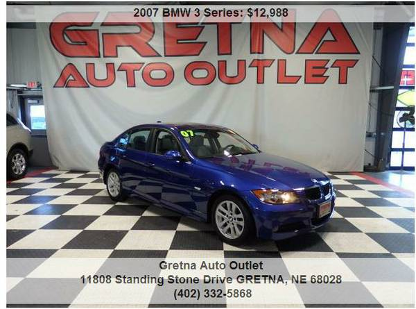 2007 BMW 328xi*AWD HEATED LEATHER GREAT COLOR ONLY 88K MOONROOF 1 OWNR