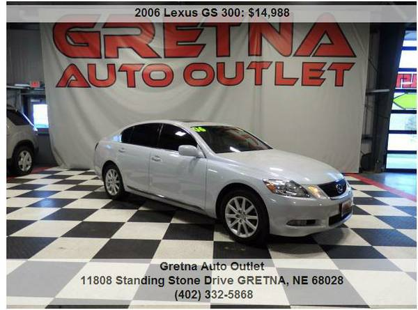 2006 Lexus GS**GS 300 ALL WHEEL DRIVE HEATED LEATHER MOONROOF*CALL NOW