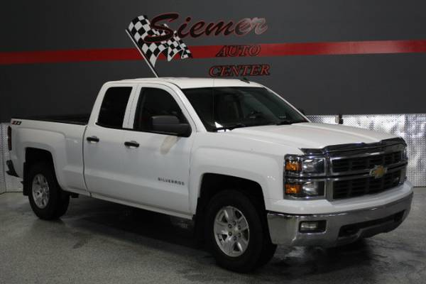 2014 Chevrolet Silverado 1500 2LT Double Cab 4WD - TEXT US 712 269-379