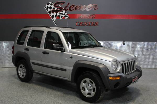 2004 Jeep Liberty Sport 4WD - TEXT US