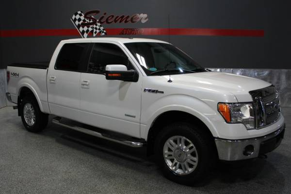 2012 Ford F-150 Lariat SuperCrew 5.5-ft. Bed 4WD - WE FINANCE, LOW RAT