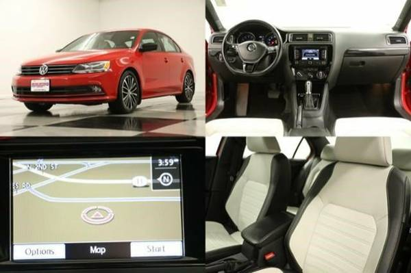 *SPORTY JETTA w HEATED LEATHER* 2015 Volkswagen *GPS NAV - CAMERA*