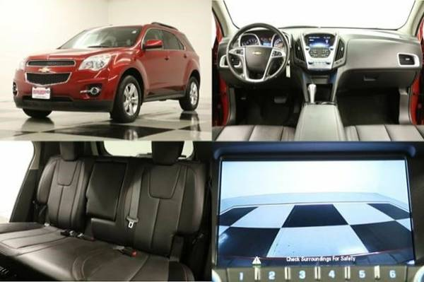*EQUINOX AWD - HEATED LEATHER* 2014 Chevy *CAMERA - 1 OWNER*