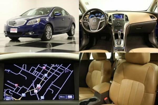 *VERANO w GPS* 2014 Buick *HEATED LEATHER - 1 OWNER*