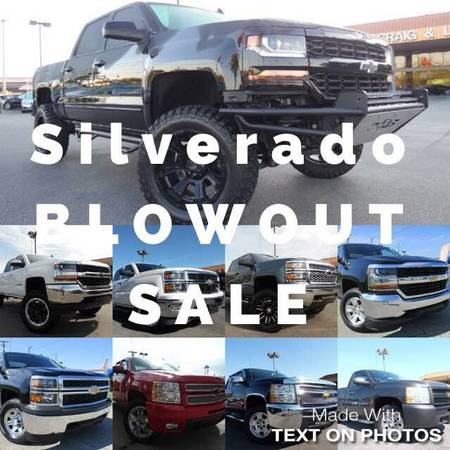 Chevrolet Silverados 1500 (11 to pick from)