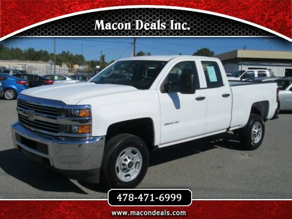 2016 Chevrolet Silverado 2500HD Work Truck Double Cab 2WD