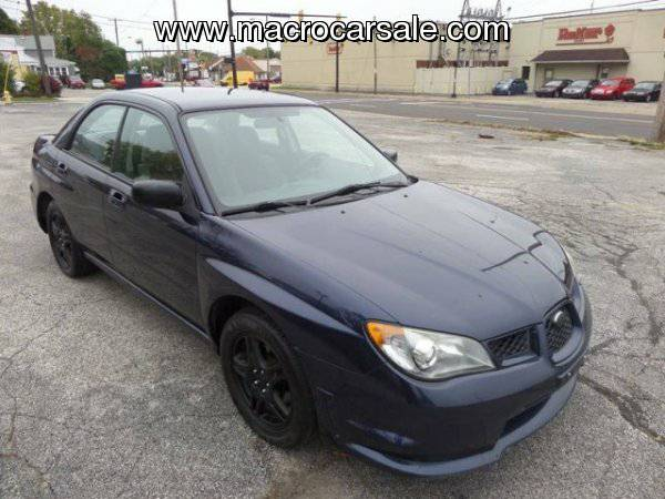 2006 Subaru Impreza 2.5 i AWD 4dr Sedan w/Manual with