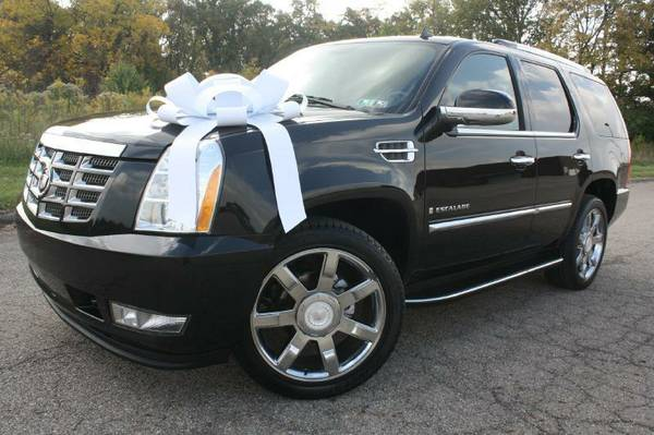 2008 Cadillac Escalade-1Owner, Spotless, NAV, Camera, DVD, 3rd Row