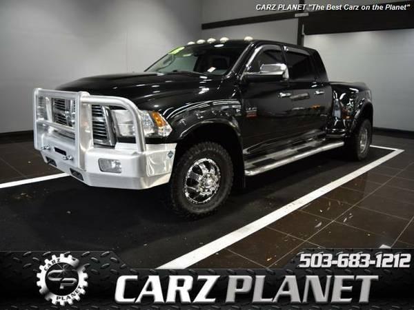█ 2011 Ram 3500 Laramie dually Diesel truck ram 3500 diesel...