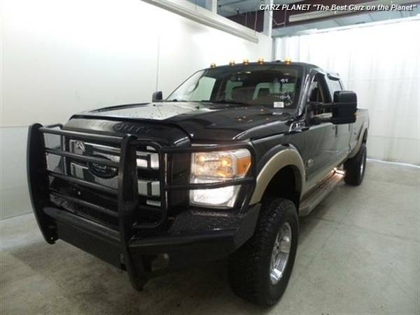2012 Ford F-350 Super Duty King Ranch diesel truck ford f350 dvd