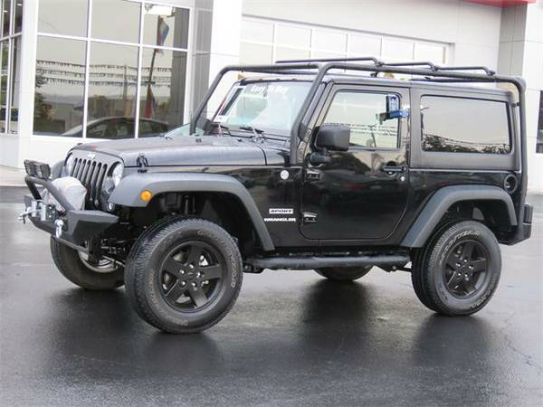2015 Jeep Wrangler Convertible Sport - Contact Dealer