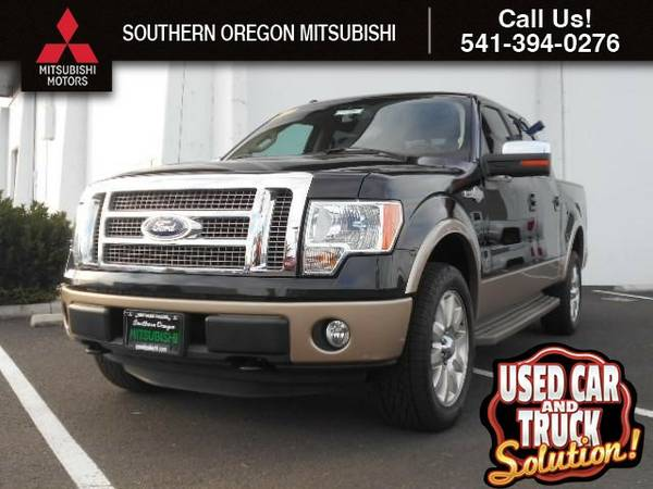 2011 Ford F-150 4WD SuperCrew 157 King Ranch Truck F-150 Ford