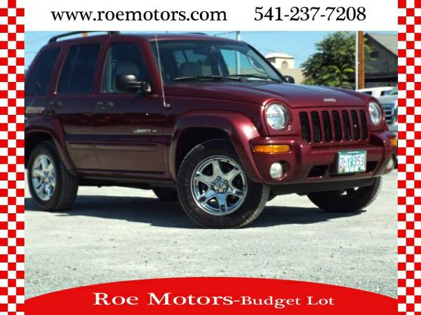 2003 Jeep Liberty Limited, Dark Garnet Red #45964