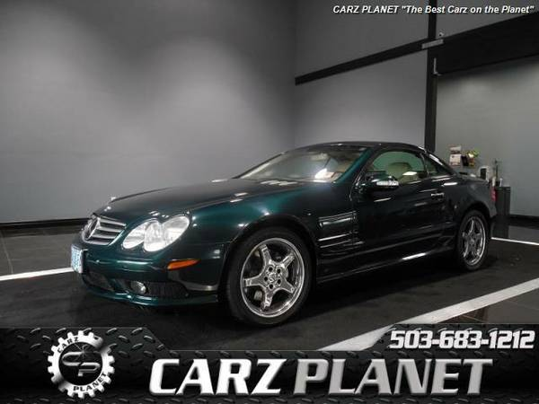 █ 2003 Mercedes-Benz SL-Class SL500 roadster mercedes benz...