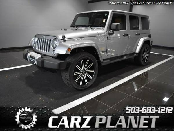 █ 2014 Jeep Wrangler Unlimited Sahara RARE interior jeep...