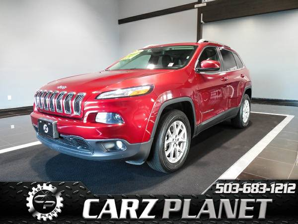 █ 2014 Jeep Cherokee Latitude 4x4 Factory Warranty Jeep...
