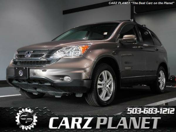 █ 2011 Honda CR-V EX-L Nav/ back up/ leather honda crv 4WD cr-v