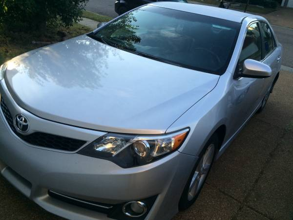 2013 Camry se leather auto