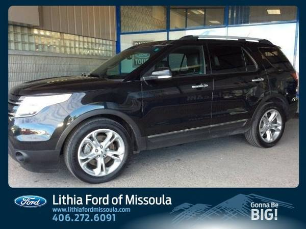 2015 Ford Explorer LIMITED (You Save $3,411 Below KBB Retail)