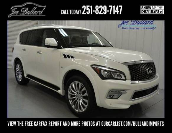 2016 Infiniti QX80 Driver Assistance Theater 22 Wheel