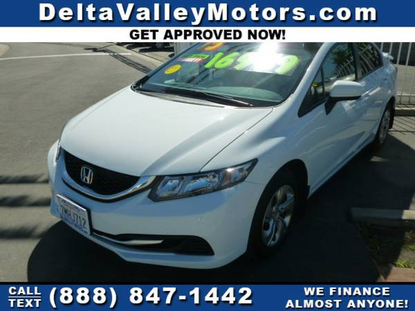 2015 *Honda Civic* LX Sedan 4D Car ONLY 9,300 MILES!