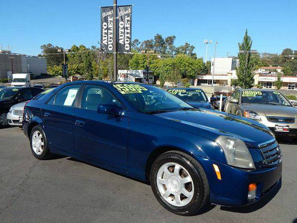 2003 *Cadillac* *CTS* Base 4dr Sedan