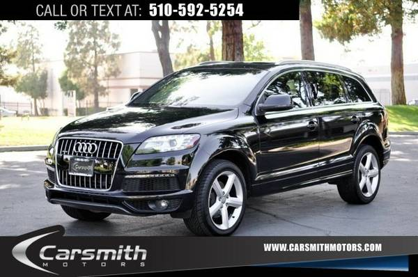 2012 Audi Q7 LOADED AND LOW MILES