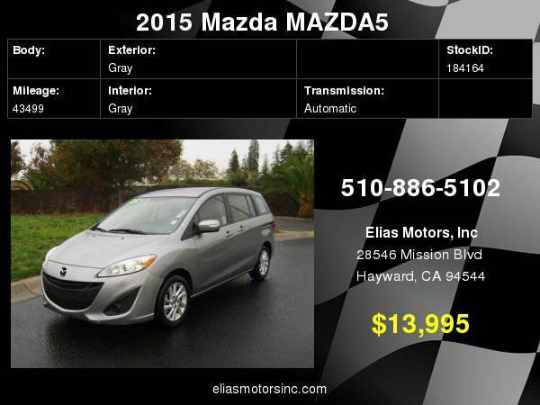 2015 Mazda MAZDA5 Sport 4dr Mini Van