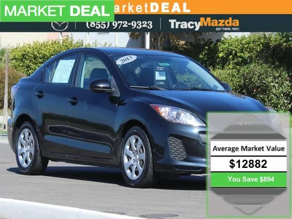 2013 *Mazda Mazda3* 4D Sedan Mazda Certified!