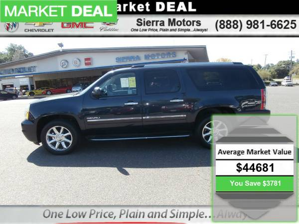 2013 GMC Yukon Xl 1500 Denali Sport Utility ONE OWNER LOW MILEAGE!!