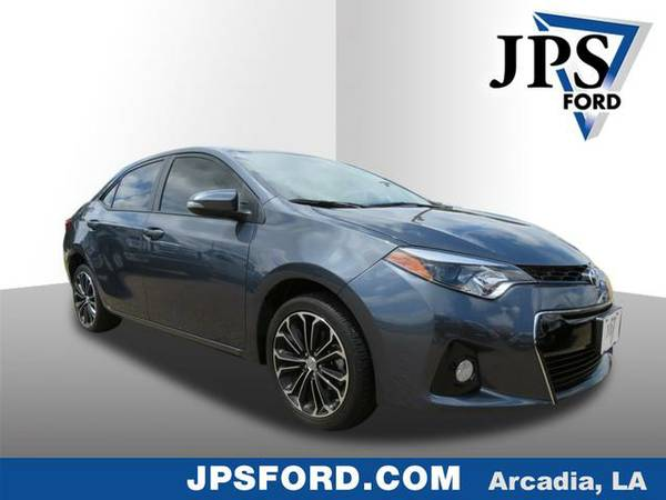 2015 Toyota Corolla Slate Metallic Current SPECIAL!!!