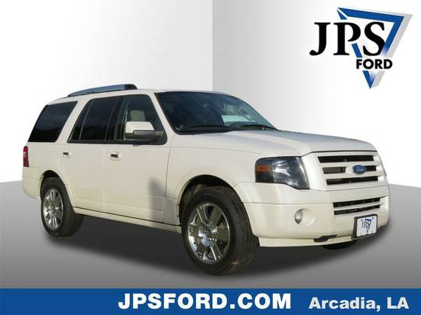 2010 Ford Expedition White Platinum Metallic Tri-Coat