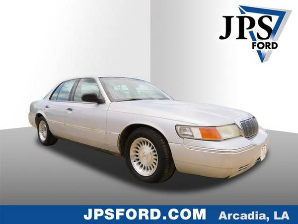 2002 Mercury Grand Marquis Silver Frost Clearcoat Metallic