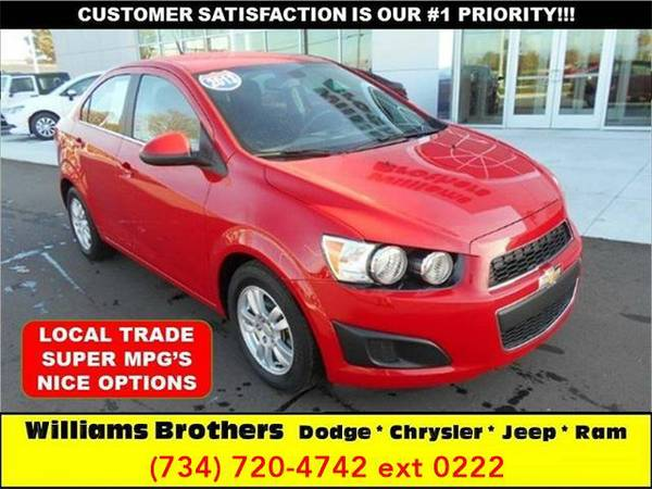 2013 *Chevrolet Sonic* LT Auto 4dr Sedan (Just Red)