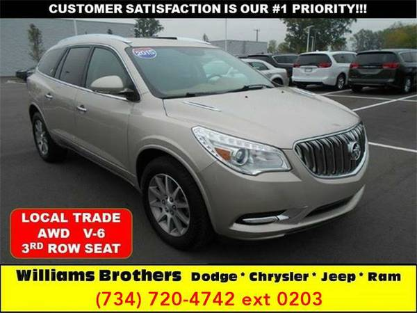 2015 *Buick Enclave* Leather AWD 4dr SUV (Champagne Metallic)