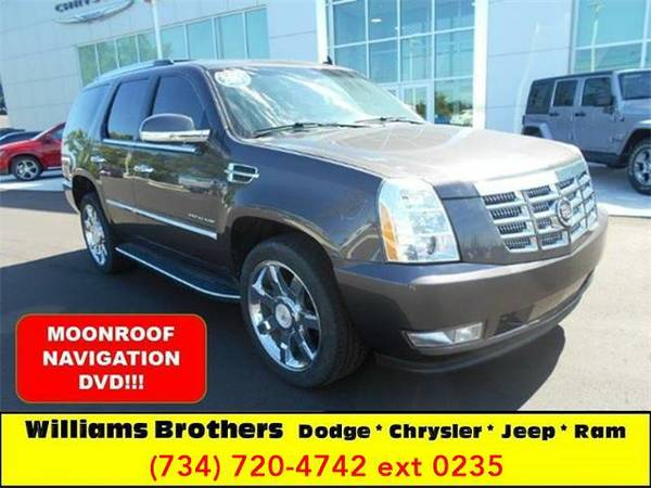 2011 *Cadillac Escalade* Luxury AWD 4dr SUV (Gray)