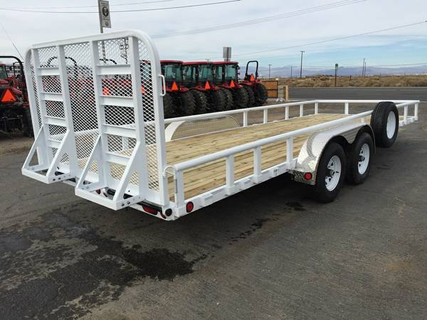 Equipment Trailers, Utility Trailers, PJ Trailers U8222