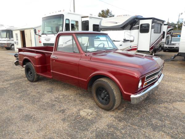 1969 CHEVROLET C-10 STEP SIDE LONG BED