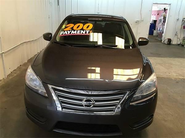 2014 *Nissan Sentra* 4d Sedan S 6spd NO CREDIT CHECK!