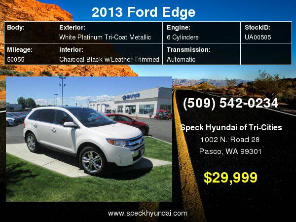 2013 Ford Edge Limited with
