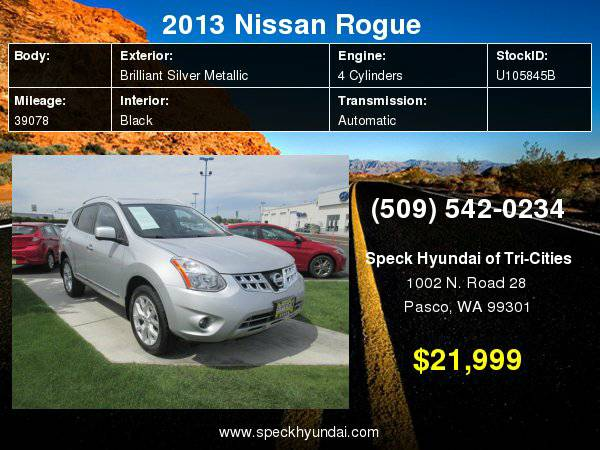 2013 Nissan Rogue with