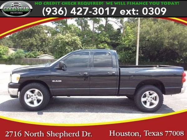 2008 *Dodge Ram 1500* SLT Quad Cab 4WD NO CREDIT CHECK REQUIRED!