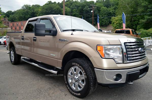 2012 Ford F-150* 4WD* 3.5L ECOBOOST* TOW PKG* RUNNING BOARDS*BED LINER