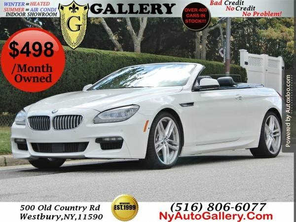 2014 Bmw 6 Series 650i Convertible Easy Finance